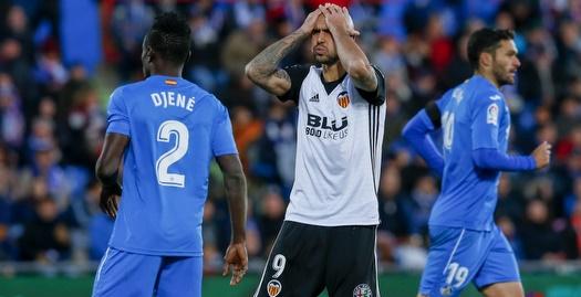 סימונה זאזה מאוכזב (La Liga)