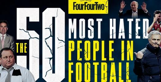 50 השנואים בכדורגל העולמי (מתוך מגזין פורפורטו)