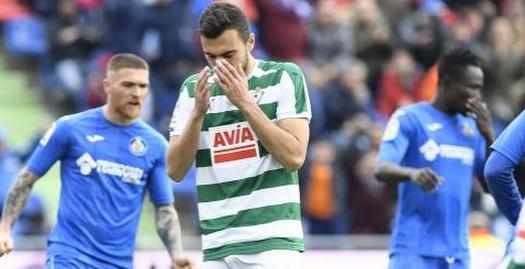 ז'ורדן מאוכזב מהחמצת הפנדל (La Liga)