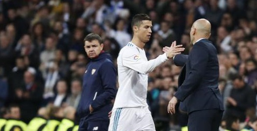 כריסטיאנו רונאלדו וזינדין זידאן  (La Liga)