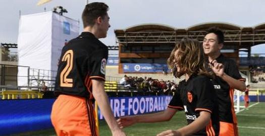 ילדי ולנסיה חוגגים (La Liga)
