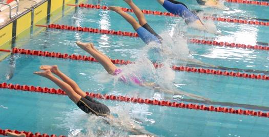 תחרויות השחייה  (משה חרמון)