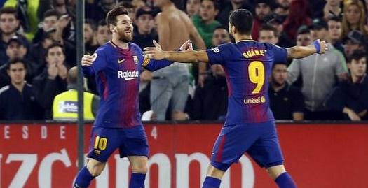 לואיס סוארס וליאו מסי (La Liga)