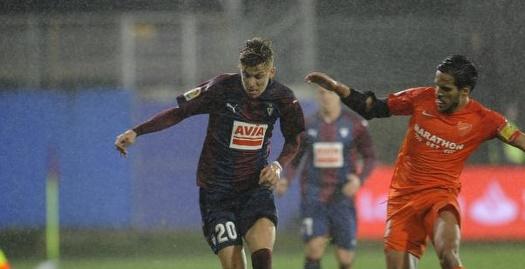 איבן אלחו עם הכדור (La Liga)