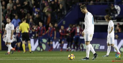שחקני ריאל מאוכזבים (La Liga)