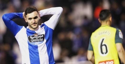 לוקאס פרס מאוכזב (La Liga)