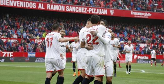 פרנקו ואסקס חוגג עם סביליה (La Liga)