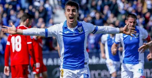 אונאי בוסטינסה חוגג (La Liga)