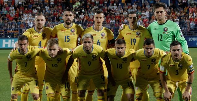 נבחרת רומניה. גם היא בתקופת מעבר (רויטרס)
