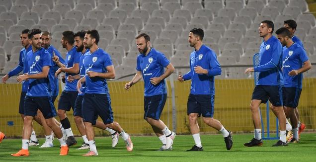 תחת חום כבד: נבחרת ישראל מתכוננת לרומניה