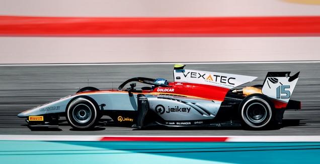 רוי ניסני ברכב קמפוס (Malcom Griffiths/FIA Formula 2) (מערכת ONE)