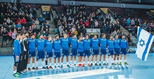 נבחרת ישראל בכדוריד (צילום צילום lietuvos rankinio federacija)