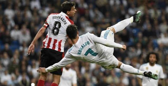 כריסטיאנו רונאלדו עולה למספרת (La Liga)