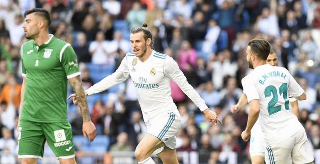 גארת' בייל חוגג (La Liga)
