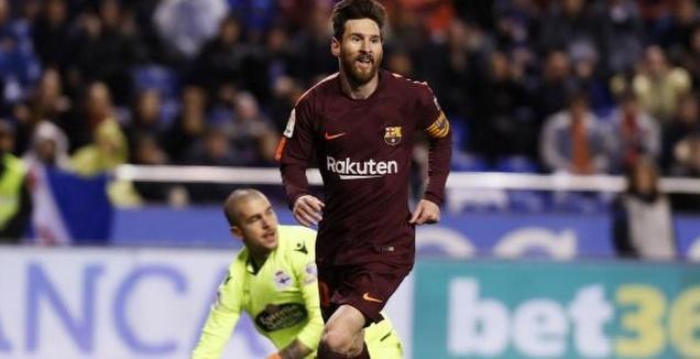 מסי חוגג ב-2:4 על סביליה (La Liga)