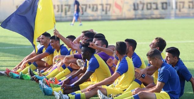 צהוב זורח: מכבי תל אביב אלופת הליגה לנוער