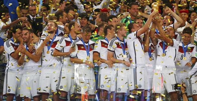 גרמניה מדורגת ראשונה לפני המונדיאל, ספרד 8