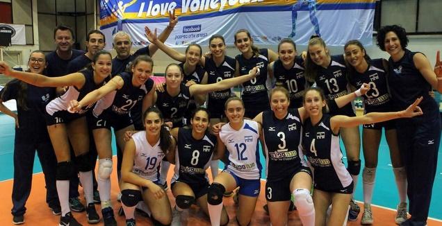 נבחרת ישראל בכדורעף נשים (מערכת ONE)