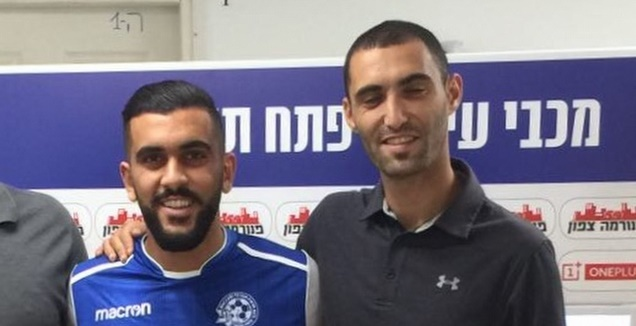 עומר גולן ופאדי זידאן (מכבי פ