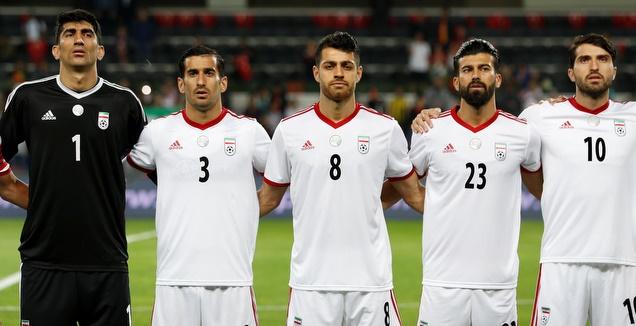 שחקני נבחרת איראן (רויטרס)