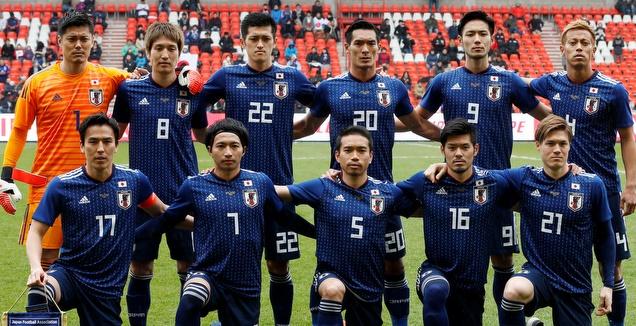 שחקני נבחרת יפן (רויטרס)
