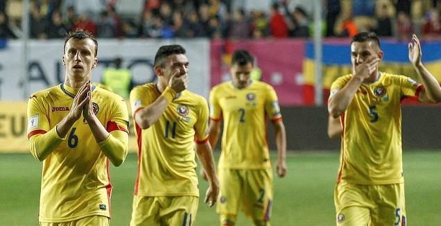 שחקני נבחרת רומניה (רויטרס)