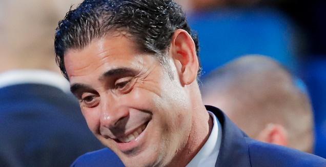 פרננדו היירו, מאמן נבחרת ספרד החדש (רויטרס)