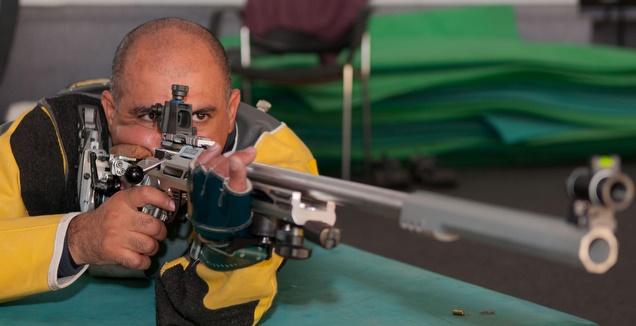 דורון שזירי זכה באליפות ישראל בקליעה