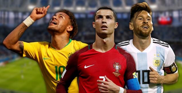 מסי, רונאלדו וניימאר. מי יזכה? (רויטרס)