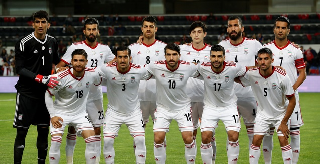 אין להם מה להפסיד. שחקני נבחרת איראן (רויטרס)