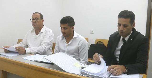 שי אליאס וניר רשף במהלך הדיון (אחמד מוררה)
