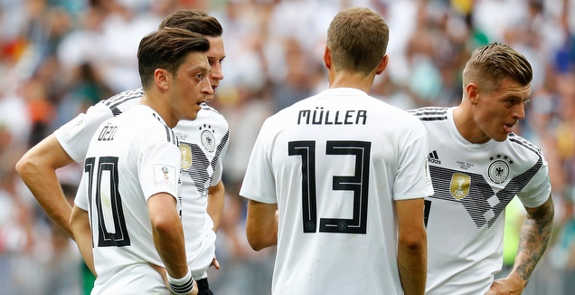 שחקני גרמניה המומים (רויטרס)