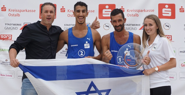 אמיר זוהר ורון בן ישי (WorldFootvolley)