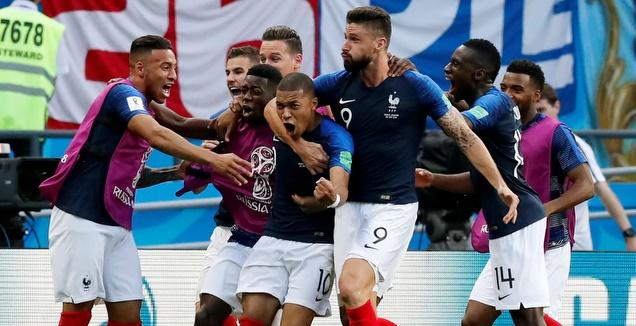 נבחרת צרפת. תחגוג גם בראשון? (רויטרס)
