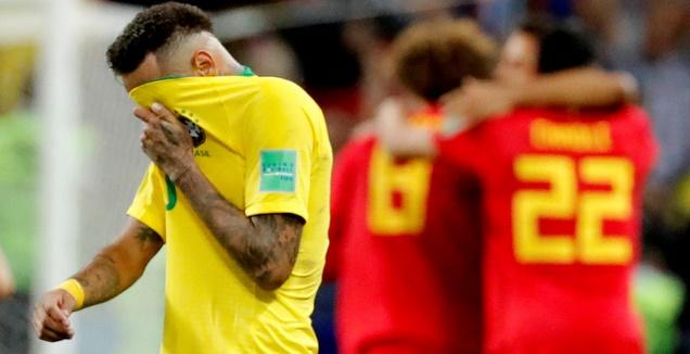 גנבה את ההצגה: בלגיה בחצי עם 1:2 על ברזיל