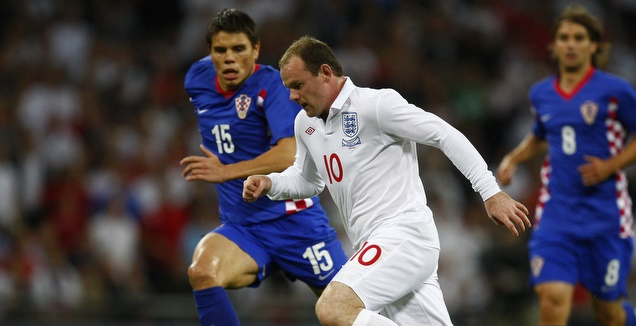 אנגליה מול קרואטיה במפגש האחרון (רויטרס)