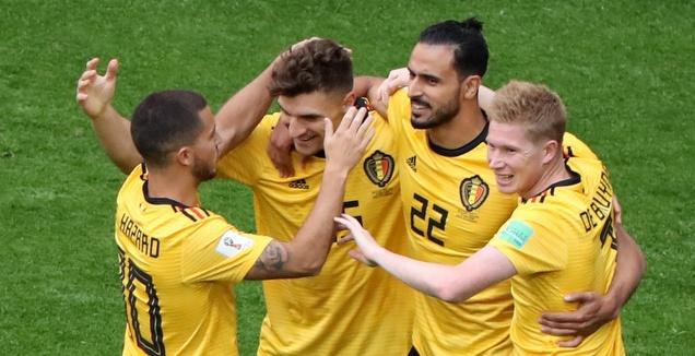 בלגיה סיימה במקום השלישי אחרי 0:2 על אנגליה