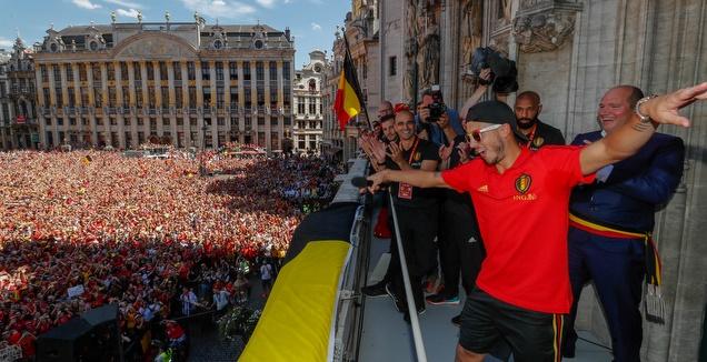קבלת הפנים של בלגיה (רויטרס)