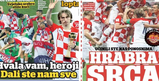 כותרת העיתונים בקרואטיה
