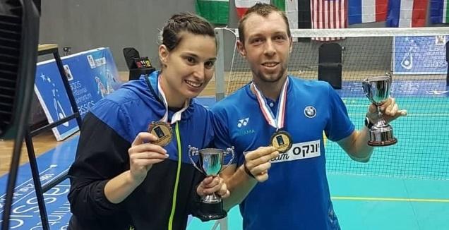 קסניה פוליקארפובה ומישה זילברמן (איגוד הבדמינגטון) (מערכת ONE)