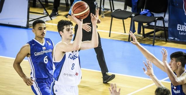 דני אבדיה עולה לסל (FIBA)