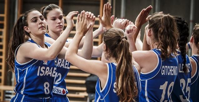 שחקניות נבחרת הנערות (איגוד הכדורסל)