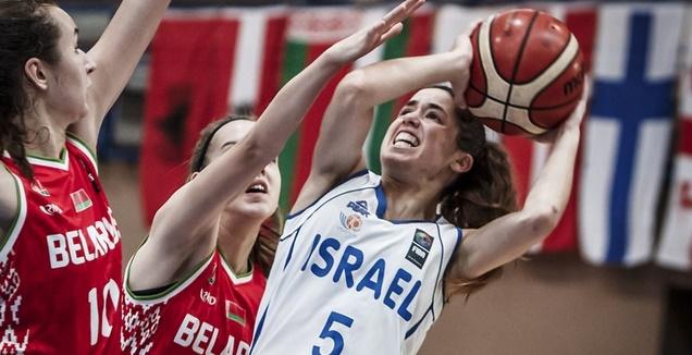 נבחרת הנערות של ישראל (באדיבות איגוד הכדורסל)