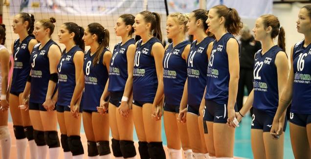 נבחרת כדורעף הנשים (שחר גרוס)