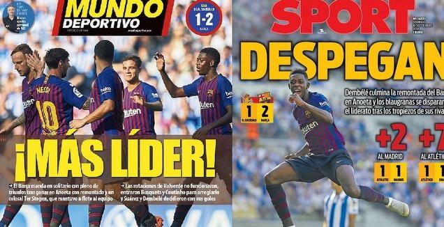 שערי העיתונים בברצלונה