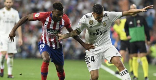דני סבאיוס בדרבי המדרידאי (La Liga)