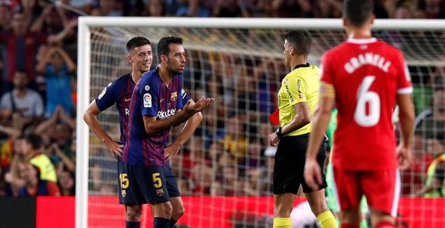 ללא ה-VAR: ברצלונה בפסגה, ריאל רק שישית