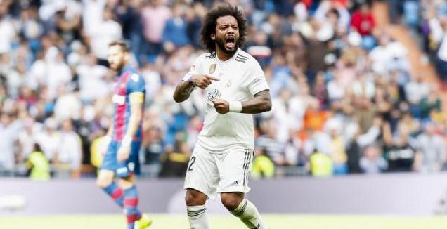 מרסלו חוגג שער (La Liga)