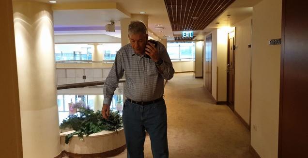 יואב כץ במלון קראון פלאזה (דורון בן דור)