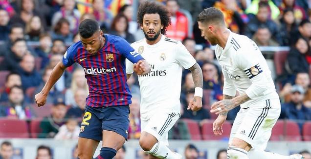 ראפיניה מול ראמוס ומרסלו (La Liga)